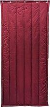 Boracy Insulated Patio Door Curtain Heavy Duty