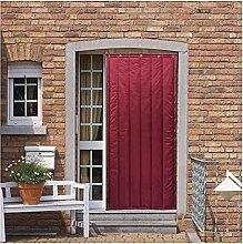Boracy Winter Thicken Cotton Door Curtain, Winter