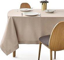 Border Linen Blend Tablecloth by La Redoute