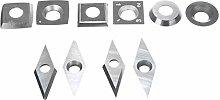 Boring Bar Lathe Tool 10 Pieces of Diamond Square