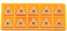 Boring Bar Lathe Tool 10pcs TNMG160408R Carbide