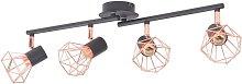 Borkholder 4-Light Track Kit by Williston Forge -