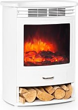 Bormio S WH, Electric Fireplace, 950 / 1900W,