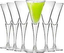 Bormioli Rocco Fiore Sherry Grappa Liqueur Glasses