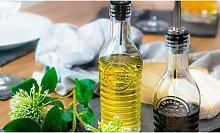 Bormioli Rocco Glass Olive Oil and Vinegar Bottle