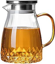 Borosilicate Glass Water Pitcher with Filter