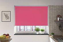 Bosa Pink Blackout Roller Blind