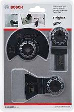 Bosch Starlock 3 Piece Multi Tool Cutter Set