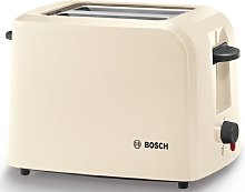 Bosch TAT3A0175G Village 2 Slice Toaster - Cream
