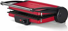 Bosch TCG4104 contact grill TCG4104, Black, Red,