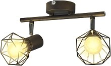Bosley 2-Light Track Kit by Williston Forge - Black