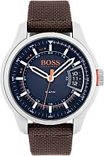 Boss Orange Hong Kong Men's Brown Leather