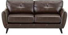 Boston Leather 3 Seater Sofa