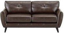 Boston Leather 3 Seater Sofa
