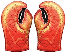 Boston Warehouse 62078 Mitts Lobser, Cotton, Set
