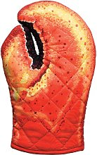 Boston Warehouse Lobster Claw Oven Mitt, Quilted
