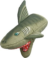 Boston Warehouse Shark Oven Mitt, Quilted Cotton,