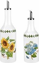 Botanic Garden Oil and Vinegar Drizzler Cruet Set