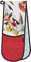 Botanica Floral Printed Double Oven Mitt Glove