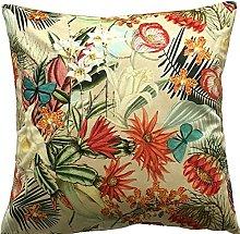 Botanical Exotic Plants Orange Tropical Flowers