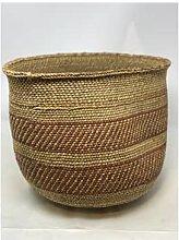 botanicalboysuk - Iringa Basket Brown Striped