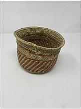 botanicalboysuk - Iringa Basket Brown Striped XS