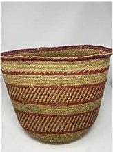 botanicalboysuk - Iringa Basket Russet Red Pattern