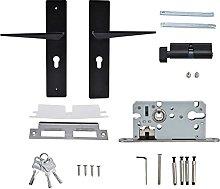 BOTEGRA Door Lock, Door Lock with Handle Easy To