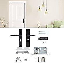 BOTEGRA Door Lock with Handle, Door Lock Zinc