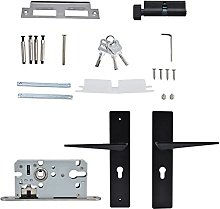BOTEGRA Door Lock with Handle, Easy To Install