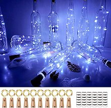 Bottle Lights 10 Pack and 36 Spare Batteries, 2m