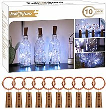 Bottle Lights with Cork, 10 Pack Copper Wire with