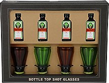 Bottle Top Shot Glass and Jagermeister Alcohol
