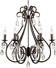 Bottrell 6-Light Candle-Style Chandelier Astoria