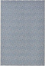 bougari Indoor and Outdoor Rug Checked Blue 80 x