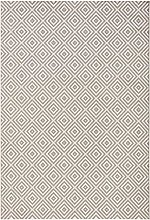 bougari Indoor and Outdoor Rug Checked Grey 80 x