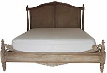 Boularderie Weathered Bed Frame Lily Manor
