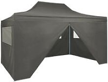 Boulware 3m x 4.5m Steel Party Tent by Anthracite