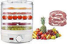 Bounabay 5 Tiers Electric Round Food Dehydrator
