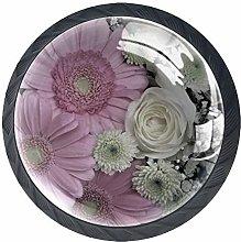 Bouquet Cabinet Door Knobs Handles Pulls Cupboard