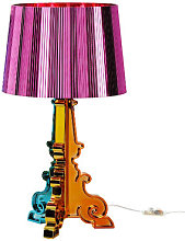 Bourgie Table lamp by Kartell Pink