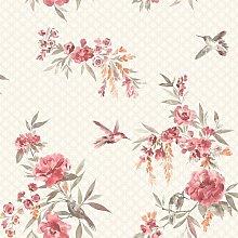Bousquet 10m L x 53cm W Floral and Botanical