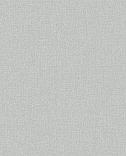 Boutique Chenille - Grey & Silver Wallpaper