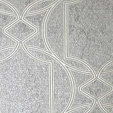 Boutique Deco Geometric Taupe Wallpaper