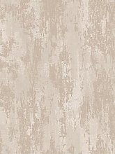 Boutique Industrial Texture Beige/Gold Wallpaper