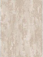 Boutique Industrial Texture Beige/Gold Wallpaper