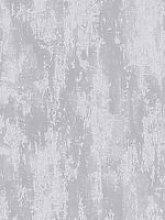 Boutique Industrial Texture Silver Wallpaper