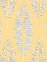 Boutique Lucia Yellow Wallpaper