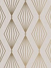 Boutique Marquise Geo Pearl Wallpaper