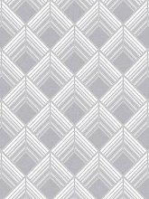 Boutique Trifina Geo Silver Wallpaper